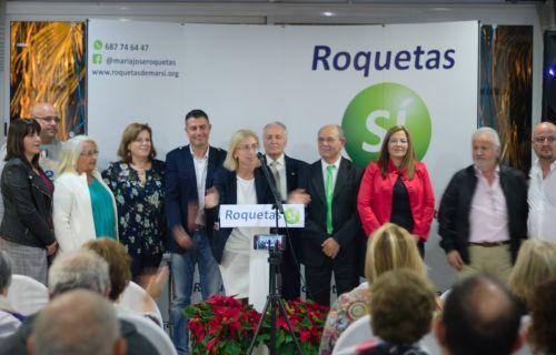 Roquetas SI presentacion candidatura 2-D Cantoria PSOE-A mitin de Susana Diaz