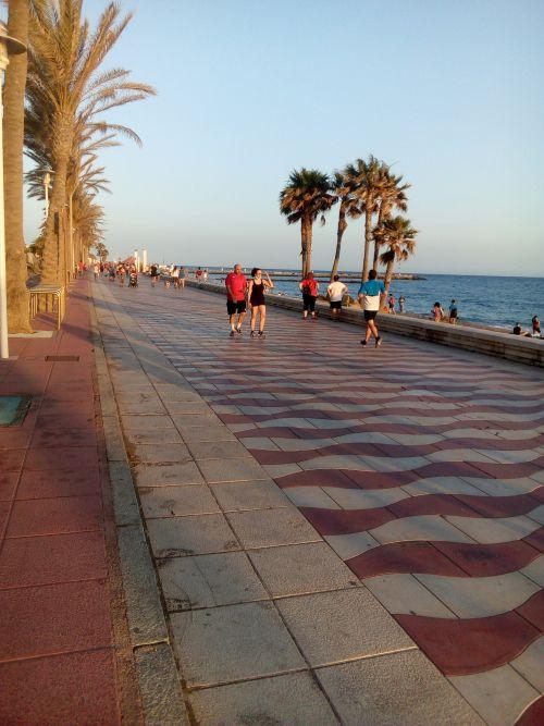 Almeria 29-5-20 paseo maritimooooo